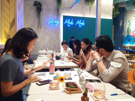 WR: Exclusive Learning Journey to Creative Eateries